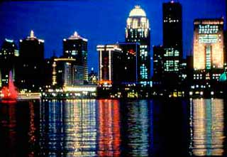 Louisville Skyline on Any Given Starlit Night